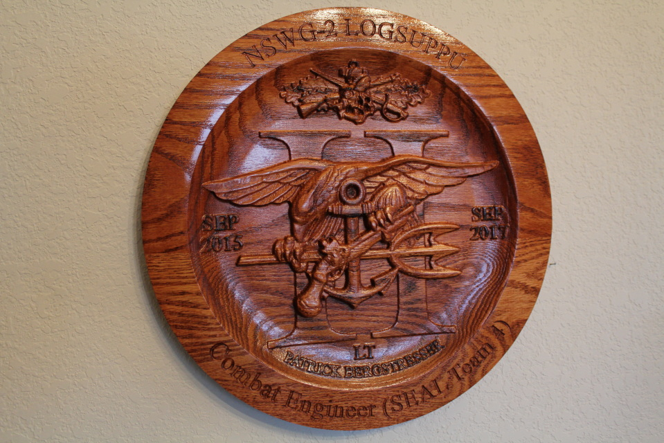 naval special warfare group two plaque